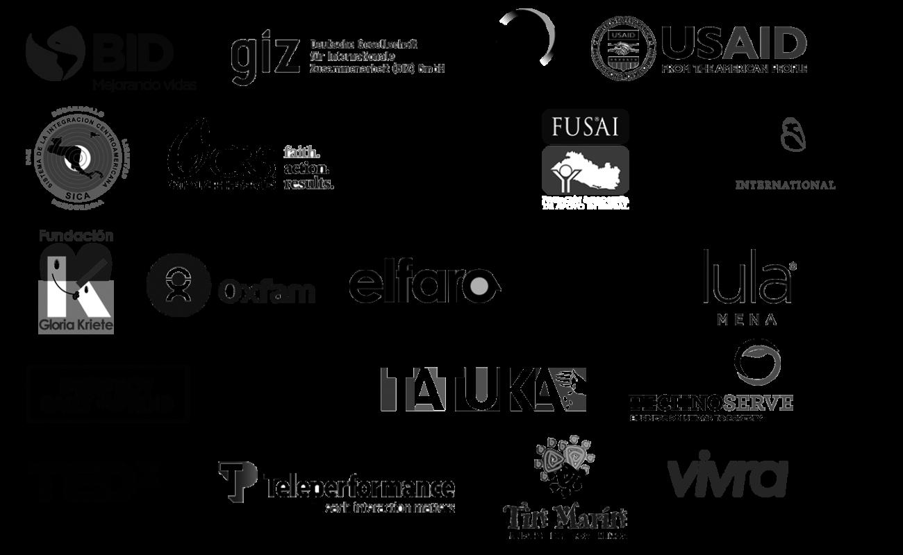 Logos Clientes BN